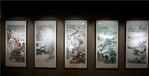 """探访画家吴学良工作室""""润琳斋"""""""